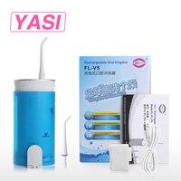 YASI FL V5 Oral Irrigator Cordless Water Flosser Portable Dental Irrigation Travel Water Pick
