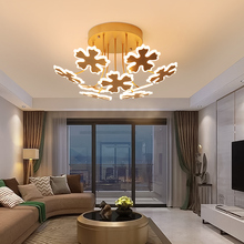 Modern led chandeliers light gold lights for bedroom living room dining room lighting hanging fixtures AC85-265V chandelier lamp
