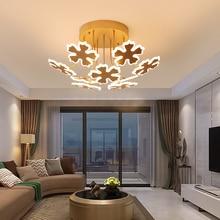 Modern led chandeliers light gold lights for bedroom living room dining room lighting hanging fixtures AC85-265V chandelier lamp недорого