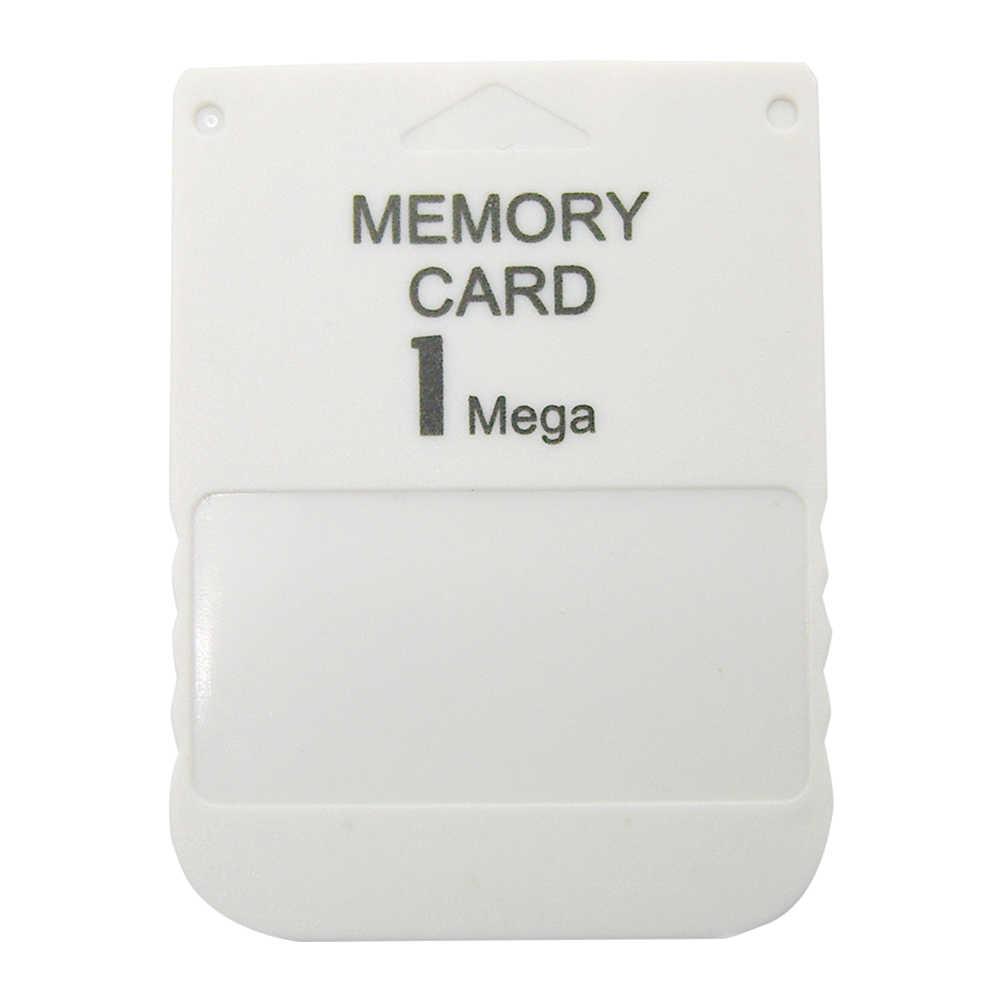 1 mb 미니 어댑터 플러그 내구성이 뛰어난 전문 스토리지 게임용 메모리 카드 데이터 ps1 용 고속 모듈 저장