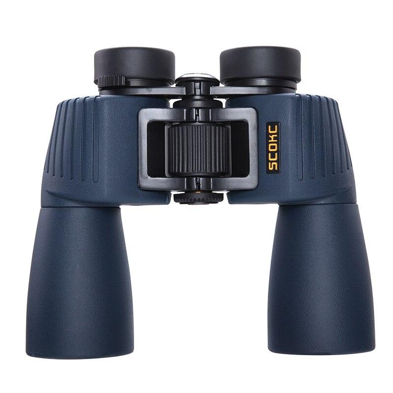 SCOKC 12x50 Jumelles Étanches Télescope Professionnel Bak4 Prisme Optique Camping Lunettes De Chasse Jumelles Haute Puissance