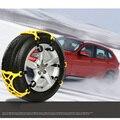 Car Vehicle Truck SUV Safe Snow Tire Chain Anti-skid Universal Yellow