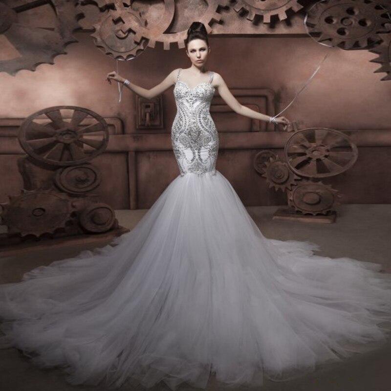 Aliexpress.com : Buy Alluring vestidos de novias organza Mermaid ...