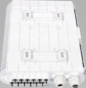 Image 2 - FTTH 12 แกนเส้นใยการสิ้นสุดกล่อง 12 พอร์ต 12 ช่อง Splitter กล่องในร่มกลางแจ้งเส้นใย Splitter กล่อง ABS