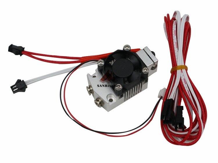 titan bulldog extrusora para impressora 3d i3 12 v 24 v.