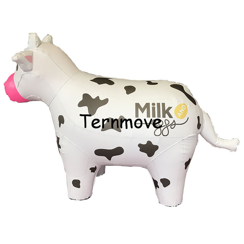 giant inflatable cow balloon PVC  Animal advertising Promotion Helium Balloone's floating custom large ground balloon 2 5 giant pvc inflatable balloon sky balloon helium balloon free logo