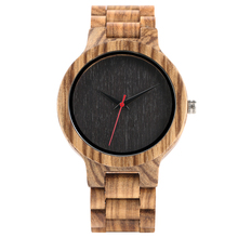 Creative Bamboo Wood Wrist Watch Men Modern Handmade Nature Wood Quartz Men's Watches Novel Timber Bangle Clock Relogio