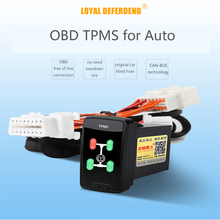 Buy OBD TPMS tire pressure monitoring system real-time intelligent  OBD auto door lock speedlock for Mitsubishi pajero xpander tpm directly from merchant!