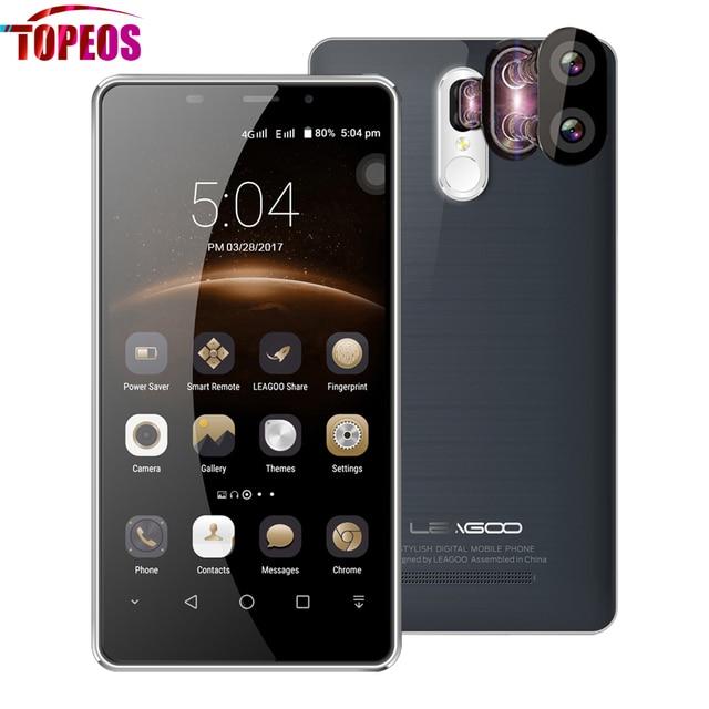 Leagoo M8 Pro Dual Rear Cameras Smartphone 5.7 Inch Android 6.0 MT6737 Quad Core 2GB RAM 16GB ROM 4G 13MP Fingerprint Dual SIM