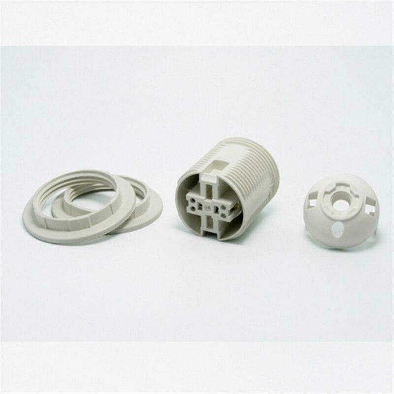 E27 LED პლასტიკური ნათურის - განათების აქსესუარები - ფოტო 2