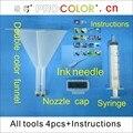 Новейший набор для очистки печатающей головки для принтера  набор для заправки  инструмент для HP officejet PRO T1100ps L7000 L7400 B8850 B9180.