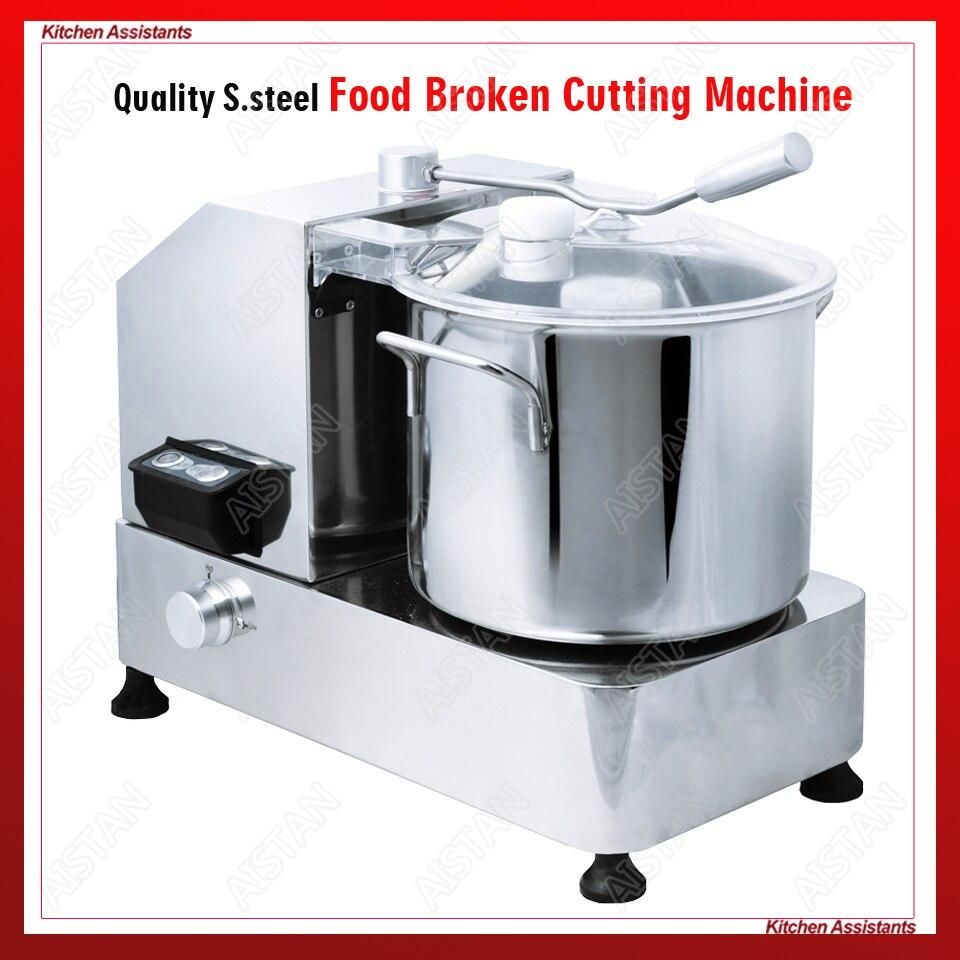 H de acero inoxidable de la serie comercial de alimentos roto máquina de corte para máquina picadora de carne DE CORTADOR de verduras procesador de alimentos