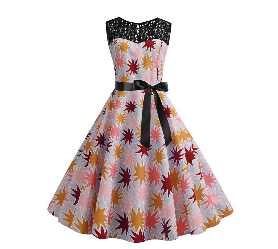 Koktejlové párty šaty jednofarebné s čipkou (10 variánt) 17
