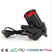 Red Mini 10W LED Spotlight Narrow Beam Pin Spot Stage Lighting With Mount For DJ Disco