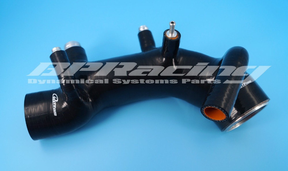 Silicone Air Intake Induction Hose FOR Subaru Impreza GC8 EJ20 WRX STI Ver3/4 BLACK turbo for subaru impreza wrx sti sedan wagon 2003 ej20 2 0l 280hp rhf55 vf37 vg440027 14411 aa541 14411 aa542 turbocharger