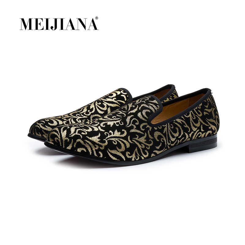 Luxury Men Shoes Black Loafers Leather Men