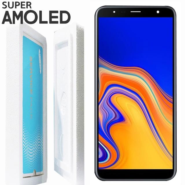 """100% probado 6,0 """"LCD para SAMSUNG J4 más J4 + 2018 pantalla J415 J415 J415F J415FN J4 más contacto digitalizador de pantalla táctil de la Asamblea"""