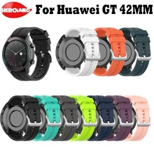 Sport Silicone WristStrap For HUAWEI Smart WATCH GT Elegant Edition 42mm Watch Strap Huawei Bands