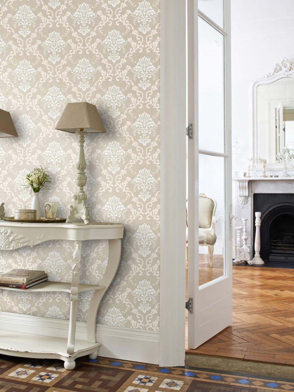 tienda online damasco floral papel tapiz para paredes de lujo d de pared del rollo de papel para el dormitorio sala dormitorio decoracin del hogar papel