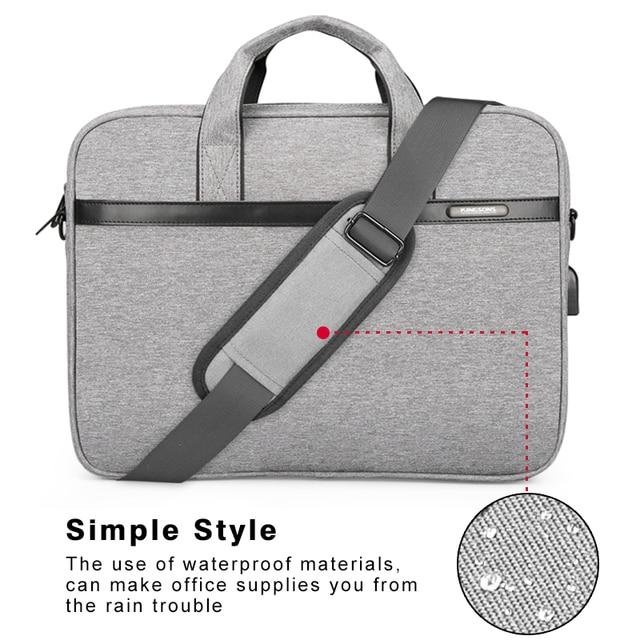 Kingsons Waterproof High Quality Laptop Handbag for 12 13 14 15 Inch 2