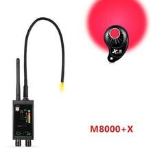 Детектор M8000 Камера Finder X GPS трекер поисковый Камера сканер металлодетекторы анти шпионский объектив CDMA GSM искатель устройств монитор