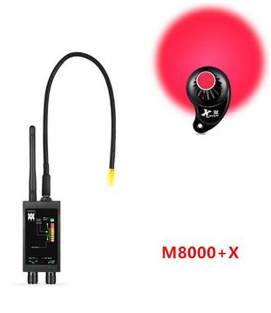 Đầu báo M8000 Camera Tìm X ĐỊNH VỊ GPS Tìm Camera Máy Quét Dò Chống Gián Điệp Ống Kính CDMA GSM Thiết Bị Tìm Màn Hình