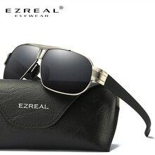 Ezreal поляризационные Солнцезащитные очки для женщин Для мужчин Защита от солнца Очки Для женщин мужчина негабаритных для вождения Оттенки Óculos De Sol masculino с коробкой 8516