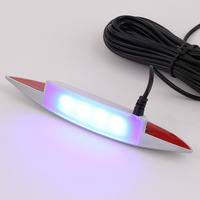 7 Colors Super Bright Car Auto Eyebrow Design 4 Pcs Wheel Lamp Car LED Wheel Lights