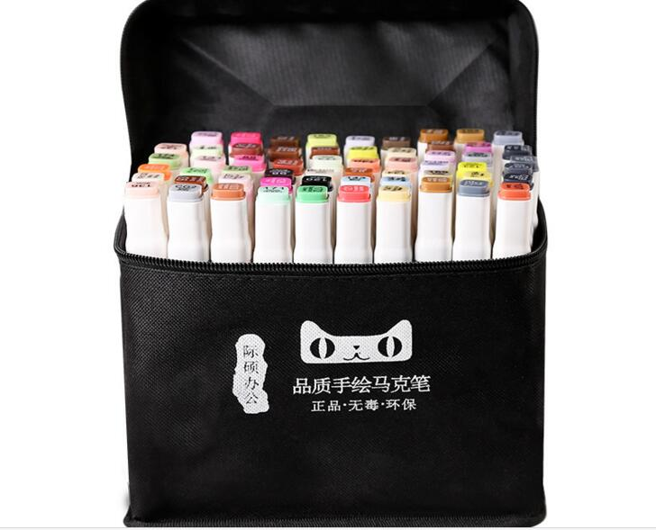 MingYun Marker Professional Art Markers Set Double-headed Alcohol based Markers Art Hand-painted For School Supplies