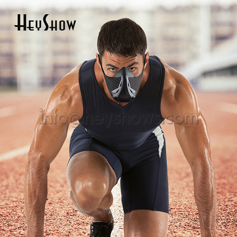 Training Sport Mask For High Altitude Conditioning Mask Fitness Work Out Exercise Mark For Elevation Endurance Mask Train newest pt training sport mask sliver model for mma sport gym training of mask 2 0