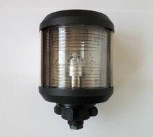 12 V/24 V 해양 보트 요트 스턴 라이트 화이트 LED 탐색 라이트 135 학위 신호등 대형