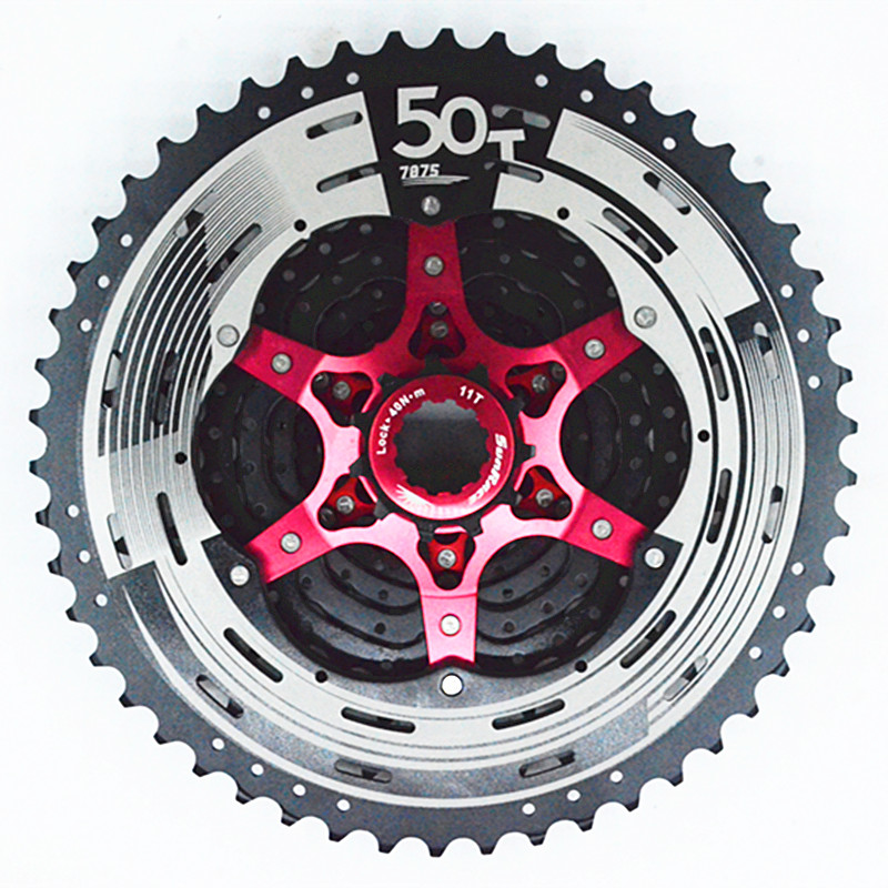 SunRace CSMX80 11-50T 11Speed MTB Bike Cassette Mountain Bicycle Freewheel Wide Ratio bicycle freewheel bike freewheel 11 50t 11 speed mtb bike cassette mountain bicycle freewheel wide ratio csmx sprockets