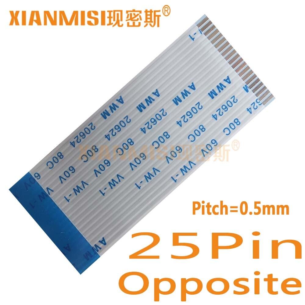 ③25Pin Flexible Flachkabel FFC Gegenüberliegenden Seite 0,5mm Pitch ...