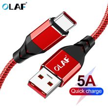 OLAF Quick charge 3.0 5A USB type c cable