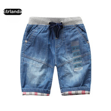 children boy denim shorts kids 100% cotton soft jeans shorts children clothing baby boys casual board shorts boy summer hot pant