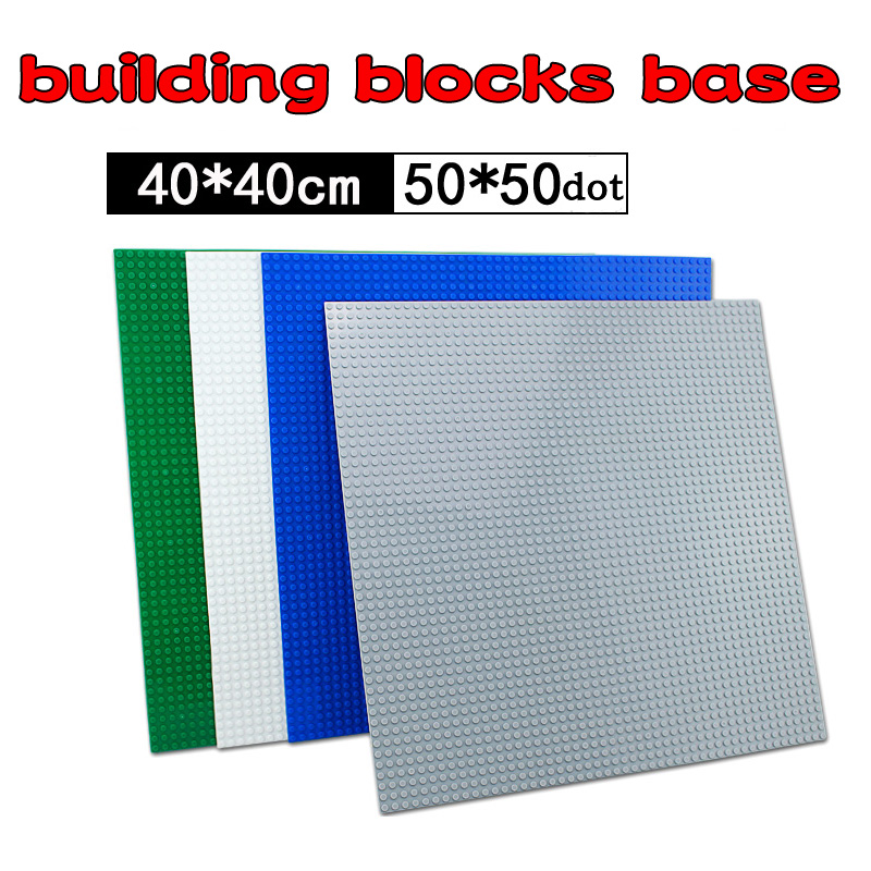 Base Plate For Small Bricks Baseplates 32*32 50*50 Dots Bricks DIY Building Blocks Toys Base Compatible With Classic Blocks