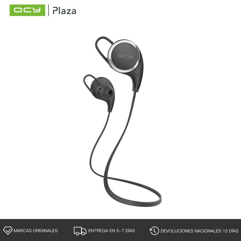 QCY Sports Bluetooth Earphone with Mic Wireless Headset APTX Bass Music Earbud for Iphone,Xiaomi,Samsung smochm true wireless bluetooth v4 2 music phonecall single earbud earphone headset for iphone xiaomi huawei samsung