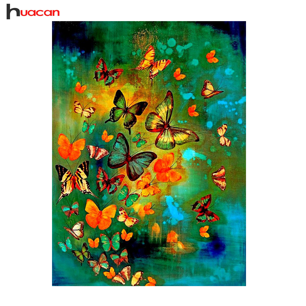5D Full Square Diamond Painting Butterfly Diamond Mozaïek Picture Of - Kunsten, ambachten en naaien