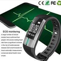 PPG ECG G20 Smart Band Heart Rate Tracker Bracelet Blood Pressure Fitness Activity Tracker Wristband Passometer Smartband Watch