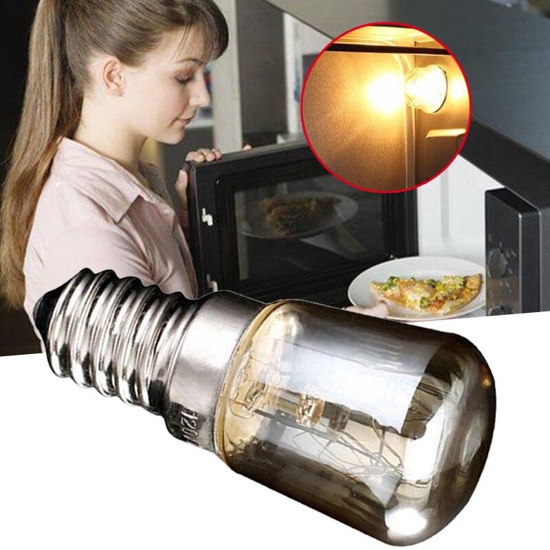Лампы для духовки высокой температуры 300 градусов T25 25 Вт, лампы для плиты, лампочки для кухни E14, аксессуары для освещения