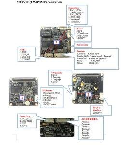 Image 5 - H.265 4K 8MP UHD Sony IMX274 sensörü IP PTZ ağ güvenlik kamerası modülü kurulu mükemmel gündüz ve gece görüş Onvif 3.6 11mm Lens