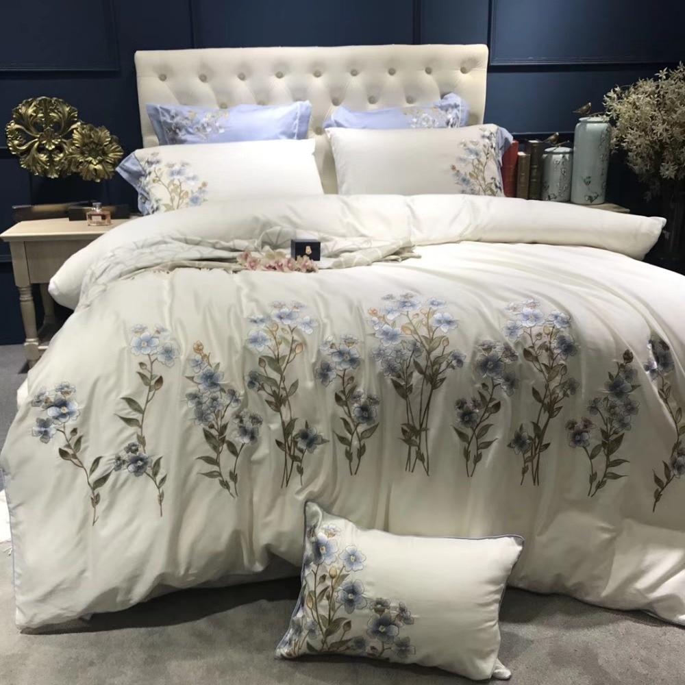 46 Pieces Girls Fancy Bedroom Set Luxury Bedding Sets Egyptian