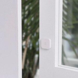 Image 2 - Orijinal Aqara titreşim/şok sensörü Gyro dahili hareket sensörü Xiaomi Mi ev App uluslararası sürüm