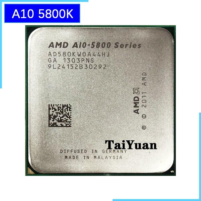 AMD 5800 A10 5800K A10 четырехъядерный процессор, процессор AD580KWOA44HJ / AD580BWOA44HJ Socket FM2