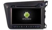 Navirider dvd плеер автомобиля Мультимедиа авто радио android8.1 Wi Fi gps навигации экран для Honda Civic 2012 RHD аудио клейкие ленты регистраторы
