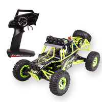 High Quality WLtoys 12428 2 4G 1 12 4WD Crawler RC Car 1 12 Electric Four