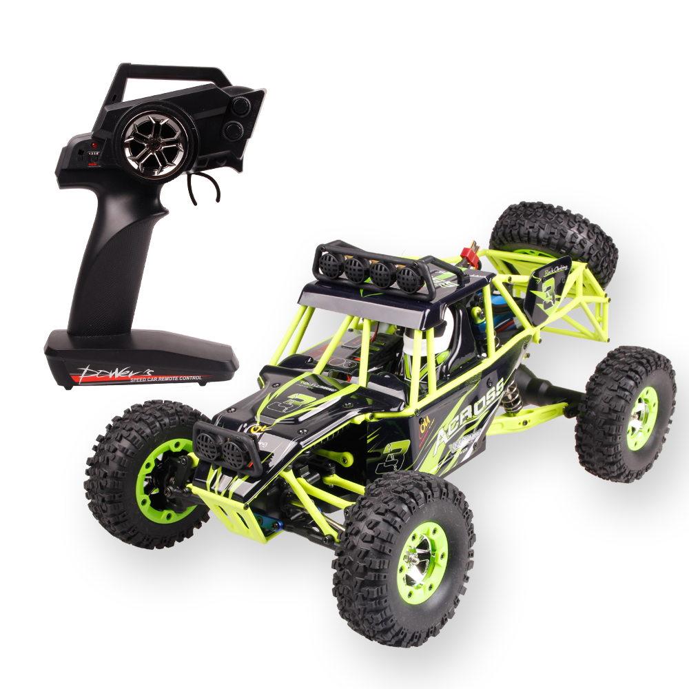 High Quality WLtoys 12428 2.4G 1/12 4WD Crawler RC Car 1:12 Electric four-wheel drive Climbing RC Car With LED Light RTR front diff gear differential gear for wltoys 12428 12423 1 12 rc car spare parts