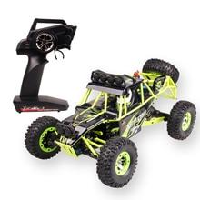 Высокое качество WLtoys 12428 2,4 г 1/12 4WD гусеничный RC автомобилей 1:12 Электрический привод на четыре колеса восхождение RC автомобиль с светодиодный свет RTR