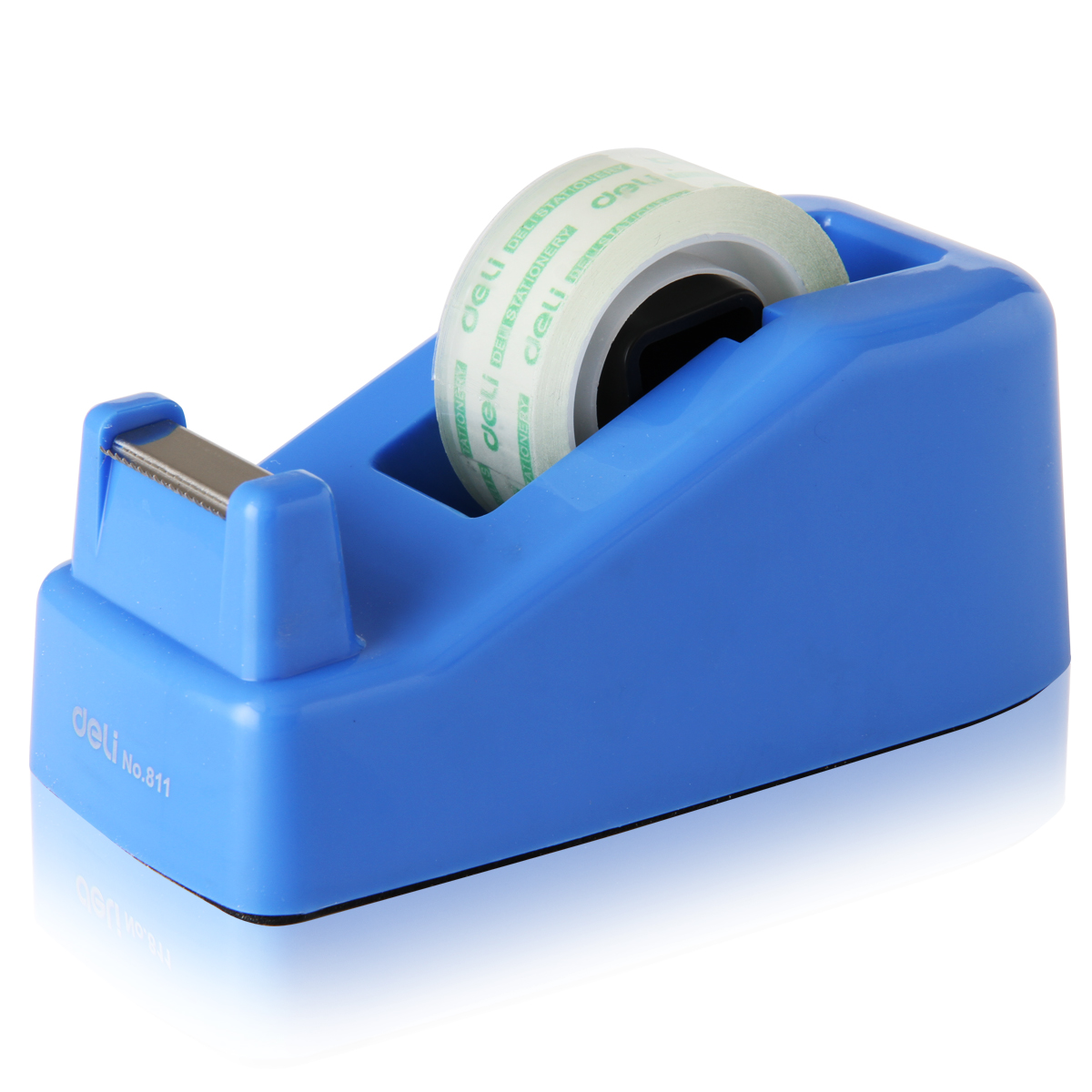 1 pc tape dispenser small size for adhesive tape width less than 18mm easy to use deli 811