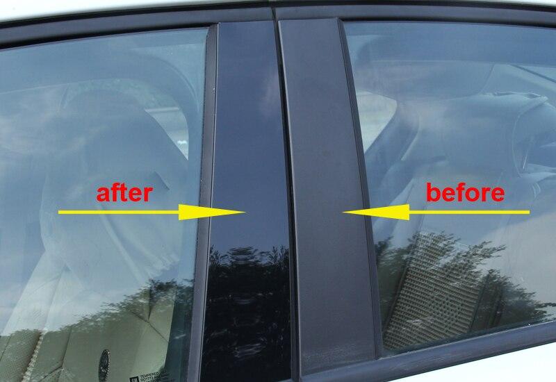 for MG GS GT ZS MG3 360 Car window Trim B column Decorative flim PC Mirror